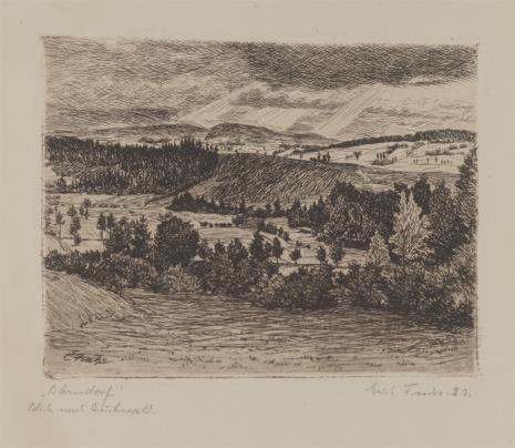 Erich Fuchs, Wieś Bärndorf