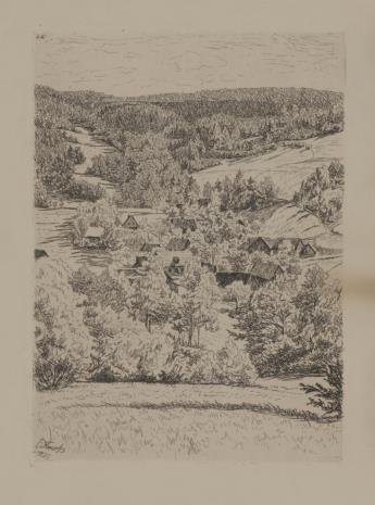 Erich Fuchs, Widok wsi