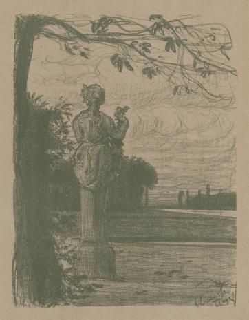 Benois Alexandre, Park w Wersalu