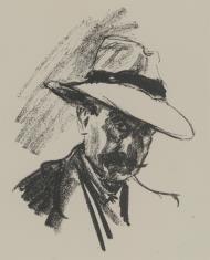 Autoportret w kapeluszu