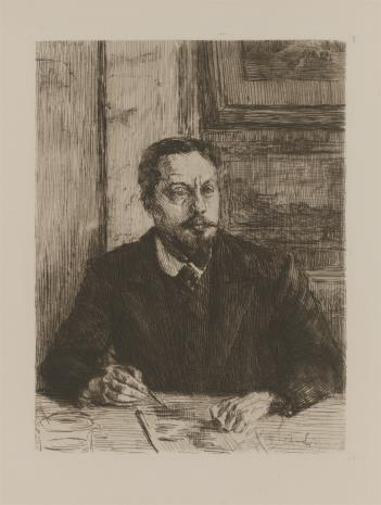Alexandre Lunois, Autoportret