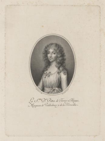 Blas Ametller, Petra de Torres y Feloaga, markiza de Valdeolmos
