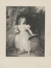 Portret Wiktorii ks. Kentu (później królowej Anglii) - w wieku 11 lat
