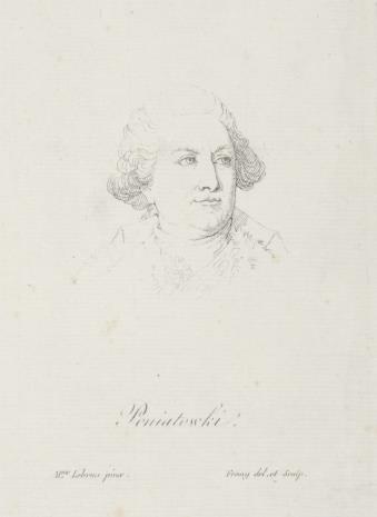 Jacques Noël Marie Fremy, Podobizna króla Stanisława Augusta Poniatowskiego, popiersie