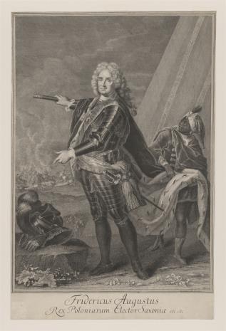 Johann Martin Bernigeroth, Portret Augusta III, króla polskiego