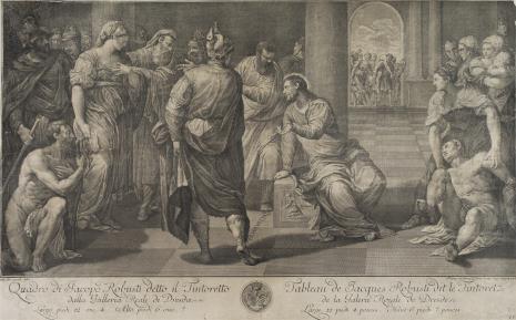 Philipp Andreas  Kilian, Chrystus i jawnogrzesznica
