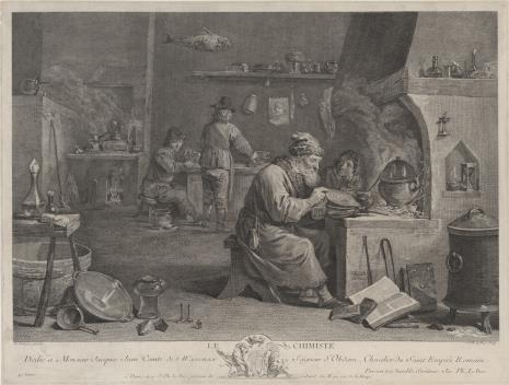Jacques Philippe Le Bas, Alchemik