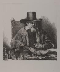 Portret Arnolda Tholinxa, inspektora Kolegium Medycznego w Antwerpii