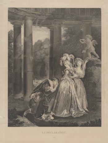 Charles Clément Bervic, Wyznanie miłości