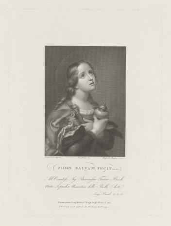 Raphael Morghen, Święta Maria Magdalena