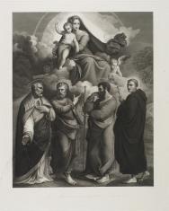 Madonna z Dzieciątkiem i czterema świętymi