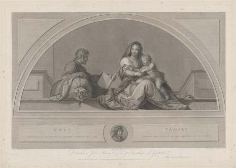 Francesco Bartolozzi, Święta Rodzina