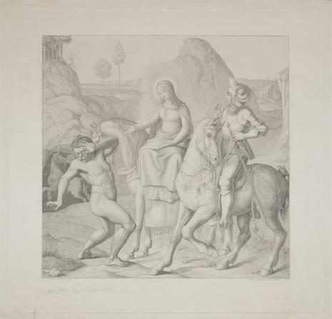 Ferdinand Ruschweyh, Alegoria Cnoty pokonującej Występek
