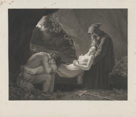 Złożenie Atali do grobu