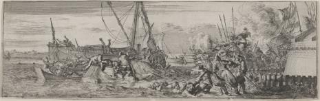 Romeyn De Hooghe, Bitwa u brzegów Holandii