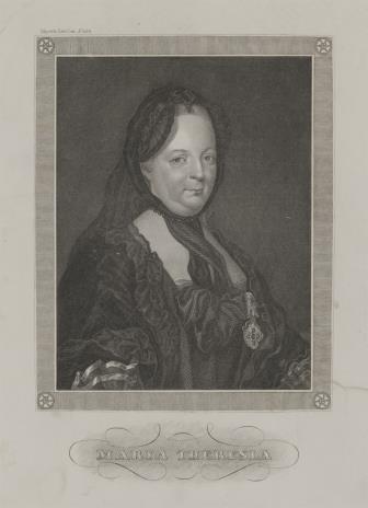 nieznany, Portret cesarzowej Marii Teresy