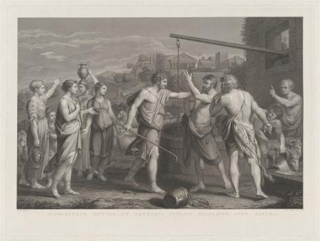Pietro Anderloni, Mojżesz występuje w obronie córek Jeftrego