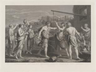Mojżesz występuje w obronie córek Jeftrego