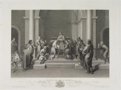 Giorlamo Scotto, Adoracja relikwii św. Filipa