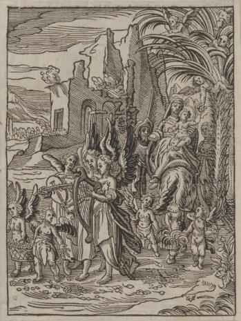 Christoph Młodszy Sichem, 1. Powrót św. Rodziny z Egiptu 2. Madonna z Dzieciątkiem witająca św. Jana