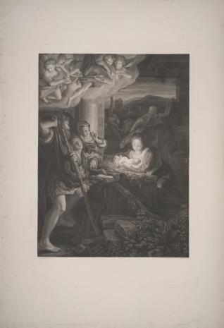 Karl Heinrich Rahl, Pokłon pasterzy