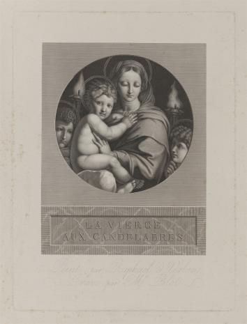 Maurice Blot, Madonna z Dzieciątkiem i dwoma aniołami