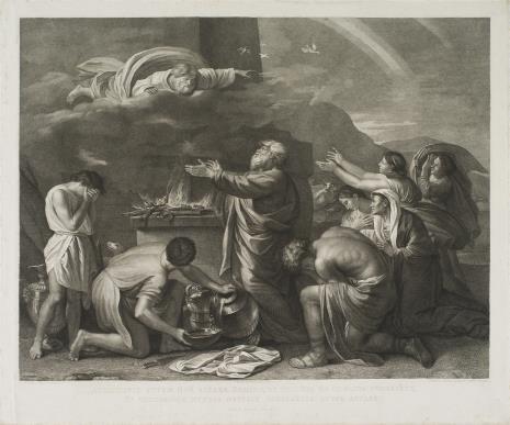 Giovanni Volpato, Noe składa Bogu ofiarę dziękczynną