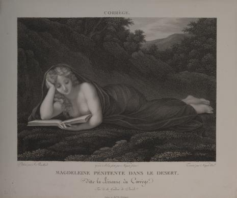 Claude Niquet, Św. Maria Magdalena pokutująca