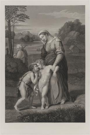 Pietro Anderloni, Święta Rodzina ze świętym Janem Chrzcicielem