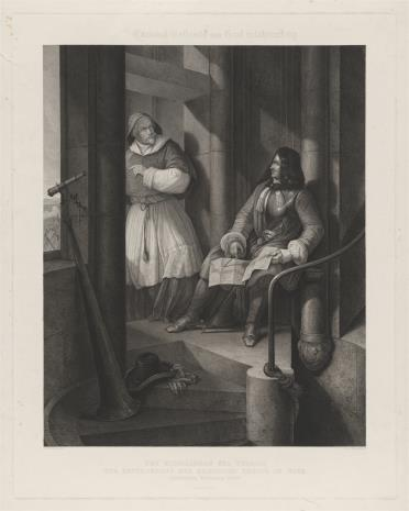 Leopold Beyer, Kardynał Kollowits i hrabia Stahremberg w czasie oblężenia Wiednia 1683