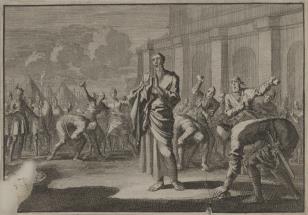 Ukamienowanie Zachariasza, syna kapłana Jojady