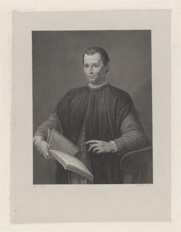 Paolo Toschi, Nicolo Macchiavelli