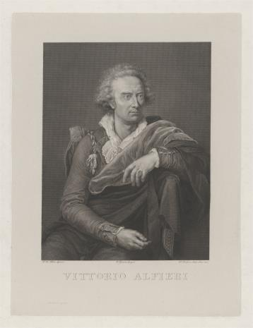 Paolo Toschi, Vittorio Alfieri