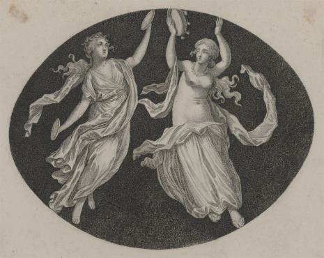 Pierre-Antoine-Auguste Vafflard, Dwie tancerki antyczne