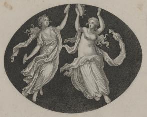 Dwie tancerki antyczne
