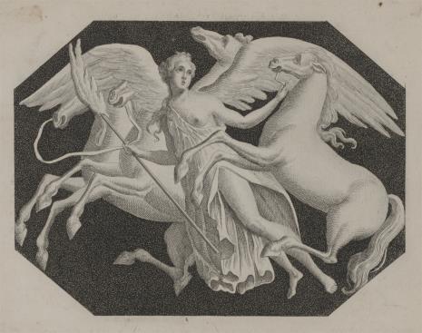 Pierre-Antoine-Auguste Vafflard, Postać alegoryczna z pegazami