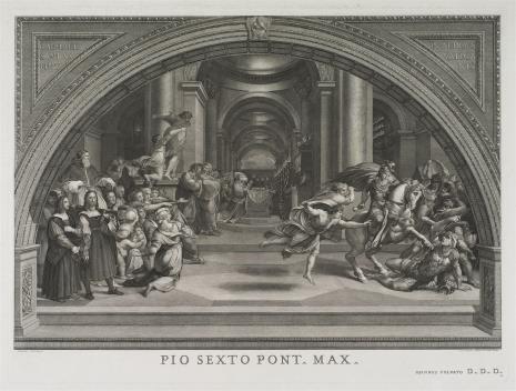Giovanni Volpato, Wygnanie Heliodora ze świątyni