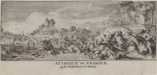 Bitwa na wybrzeżu holenderskim k. Moock