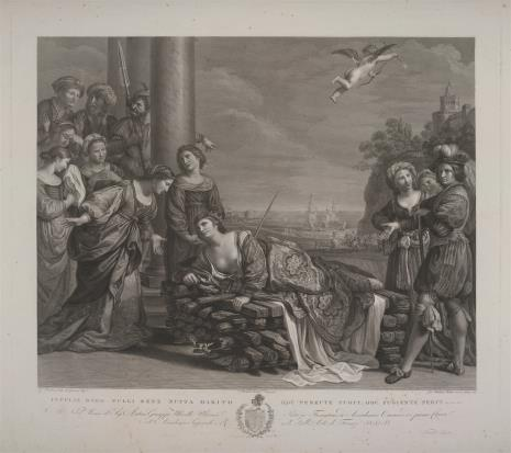 Giovanni Balestra, Dydona na stosie