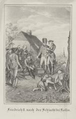 Fryderyk II po bitwie pod Kollinem