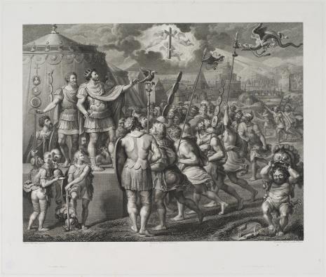 Vincenzo Salandri, Cesarz Konstantyn przemawia do żołnierzy