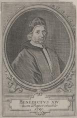 Portret papieża Benedykta XIV