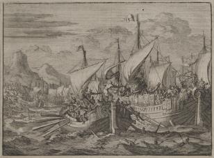 Bitwa morska Izraelitów z Fenicjanami