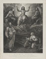 Chrystus z Najświętszą Marią Panną i świętymi