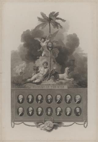 William Bromley, Portrety piętnastu dowódców angielskich w bitwach morskich z Francją 1794-98