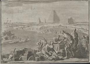 Praca Izraelitów w niewoli Egipskiej
