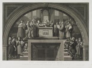 Zaprzysiężenie papieża Leona III