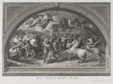 Giovanni Volpato, Spotkanie papieża Leona I z Attylą