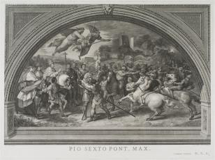 Spotkanie papieża Leona I z Attylą