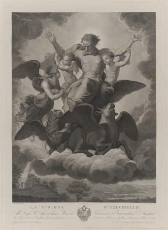 Paolo Caronni, Wizja Ezechiela